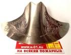 В продаже плашки на пожарный шлем GALLET F1