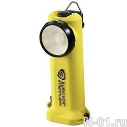 Фонарь светодиодный пожарный нагрудный индивидуальный Survivor Streamlight LED (175 lum) (желтый/черный резаки дыма в комплекте)