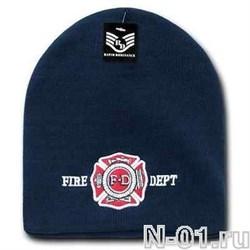 Шапка зимняя пожарная FireDept - фото 3978