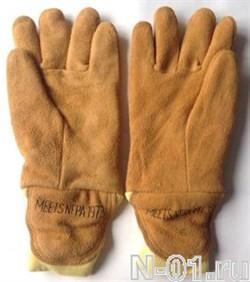 Перчатки пожарные, трехслойные. Сертификат NFPA. Размер S.