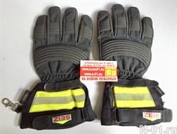 Краги пожарные SEIZ (Fire Fighter Premium). Размер 11 (XL), б/у. Технология GORE-TEX