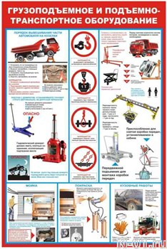 """Стенд 1205 """"Грузоподъёмное и подъёмно-транспортное оборудование"""""""