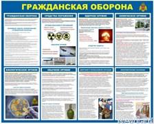 """Стенд 0209 """"Гражданская оборона"""""""