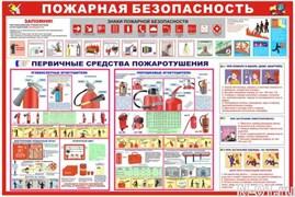 """Стенд 0401 """"Пожарная безопасность"""""""