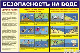 "Стенд 0410 ""Безопасность на воде"""