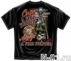 Футболка пожарного. Модель 2057. Ширина по плечам 54 см - фото 4067
