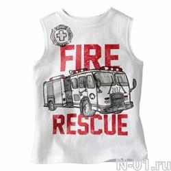 Детская пожарная майка FIRE RESCUE - фото 4123