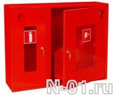 Шкаф для пожарного крана металлический 315 НОБ/НОК - фото 4263