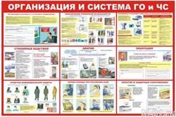 """Стенд 0206 """"Организация и система ГО и ЧС"""""""