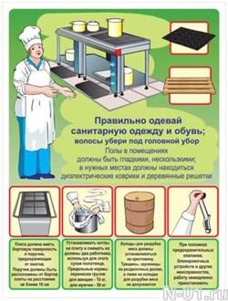 "Стенд 2405 ""Охрана труда на пищеблоке"""