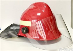 Каска пожарного КП-03 Helmet of fire rescue KP-03 (Russia) for collection