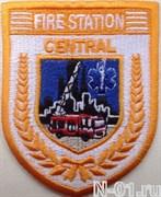 "Нашивка пожарная ""Fire station CENTRAL"" (Сингапур)"