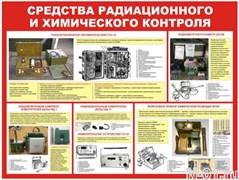 """Стенд 0218 """"Средства радиационного и химического контроля"""""""