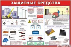 """Стенд 1101 """"Защитные средства"""""""